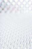 Геометрическое белое будущее предпосылки Стоковое Изображение RF