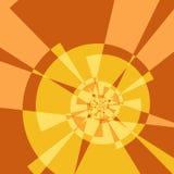 геометрическое зарево Стоковое Фото