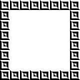 Геометрическое изображение, рамка фото в squarish формате Стоковое Изображение RF