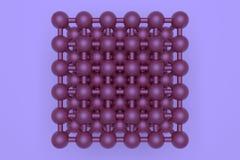 Геометрическое конспекта предпосылки виртуальное, concepture стиля молекулы блокировало сферу для дизайна, графического ресурса E бесплатная иллюстрация