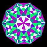 геометрическое мандала Стоковое Изображение