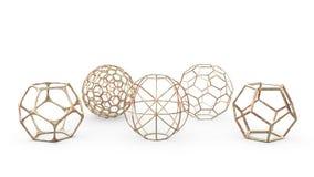 Геометрическое оформление возражает - рамки сферы иллюстрация вектора