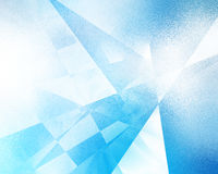 геометрическое предпосылки голубое Стоковое фото RF