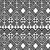 геометрическое ikat иллюстрация вектора
