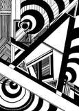 Геометрическ-динамический иллюстрация штока