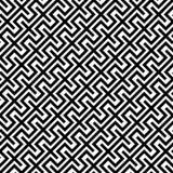 Геометрия вектора современная абстрактная выравнивает картину черно-белая безшовная геометрическая предпосылка бесплатная иллюстрация