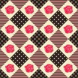 Геометрия картины розовая Стоковая Фотография
