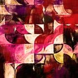 Геометрия кругов абстрактная Стоковые Изображения