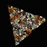 Геометрия минимализма треугольников Стоковая Фотография