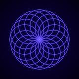 геометрия священнейшая Символ сработанности Стоковое фото RF