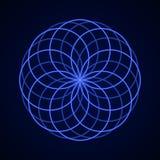 геометрия священнейшая Символ сработанности Стоковое Изображение RF