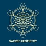 геометрия священнейшая Символы и элементы битника бесплатная иллюстрация