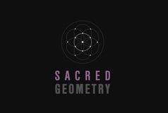 геометрия священнейшая Стоковое Фото