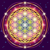 геометрия священнейшая Стоковое Изображение