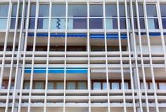 Геометрия современного здания Стоковая Фотография RF
