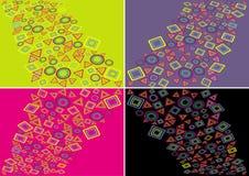 геометрия цвета Иллюстрация вектора