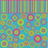 геометрия цвета Иллюстрация штока