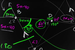 геометрия стоковое изображение