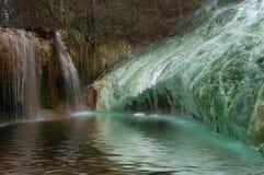геотермические воды Стоковая Фотография