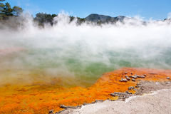 геотермический бассеин Стоковые Фото
