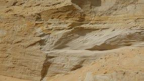 Геология и размывание утесов Стоковые Фотографии RF