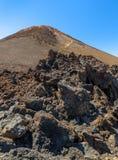 Геологохимические утесы Стоковая Фотография