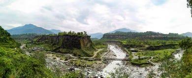 Геологохимические характеристики горы стоковые изображения rf