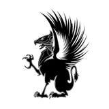 Геральдика 1 грифона Стоковые Изображения