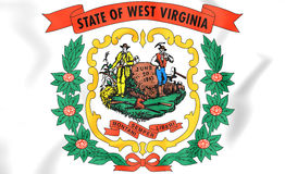 Герб Западной Вирджинии, США Стоковое Изображение