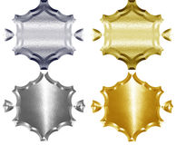 Герб металла Стоковые Фотографии RF
