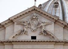 Герб Папы Александра VII Chigi Стоковое фото RF