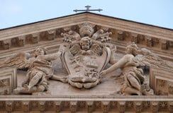 Герб Папы Александра VII Chigi Стоковые Изображения
