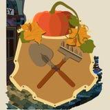 Герб садовников бесплатная иллюстрация