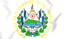 Герб Сальвадора Стоковое Фото
