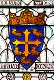 Герб средневекового крестоносца, рыцаря, кавалериста  стоковое изображение rf