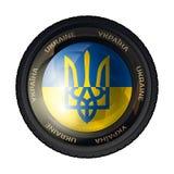Герб Украины иллюстрация вектора