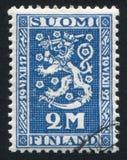 Герб Финляндии Стоковое фото RF