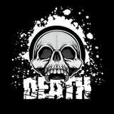 герб черепа grunge Стоковые Фотографии RF