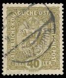 Герб штемпеля стоковое фото