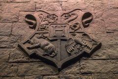 Герб Hogwarts стоковое изображение rf