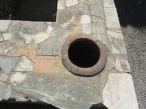Геркуланум или Ercolano старый римский городок Италия Стоковые Изображения