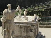Геркуланум или Ercolano старый римский городок Италия Стоковые Фотографии RF