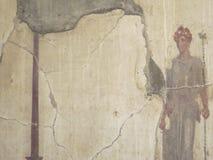 Геркуланум или Ercolano старый римский городок Италия Стоковое Фото