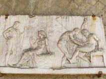 Геркуланум или Ercolano старый римский городок Италия Стоковая Фотография