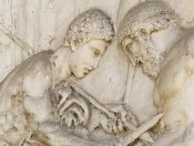 Геркуланум или Ercolano старый римский городок Италия Стоковое фото RF