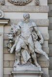 Геркулес и Cerberus стоковая фотография rf