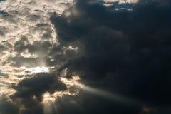 Германия, Бавария, облака Стоковые Изображения RF