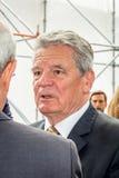 ГЕРМАНИЯ, БЕРЛИН, 12-ое мая 2015 - президент Joachim Gauck Германий Стоковая Фотография RF