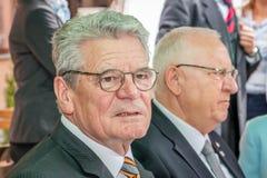 ГЕРМАНИЯ, БЕРЛИН, 12-ое мая 2015 - президент Joachim Gauck Германий Стоковая Фотография