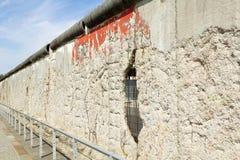 Германия, Берлин, Берлинская стена Стоковые Фото